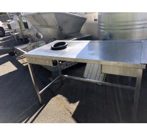 Table inox 140X70