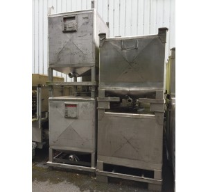 Containers inox 1000L