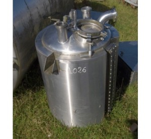 cuve inox 250 L  N° 1026