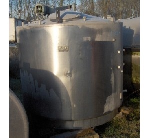 cuve inox 3000L isolée (N°...